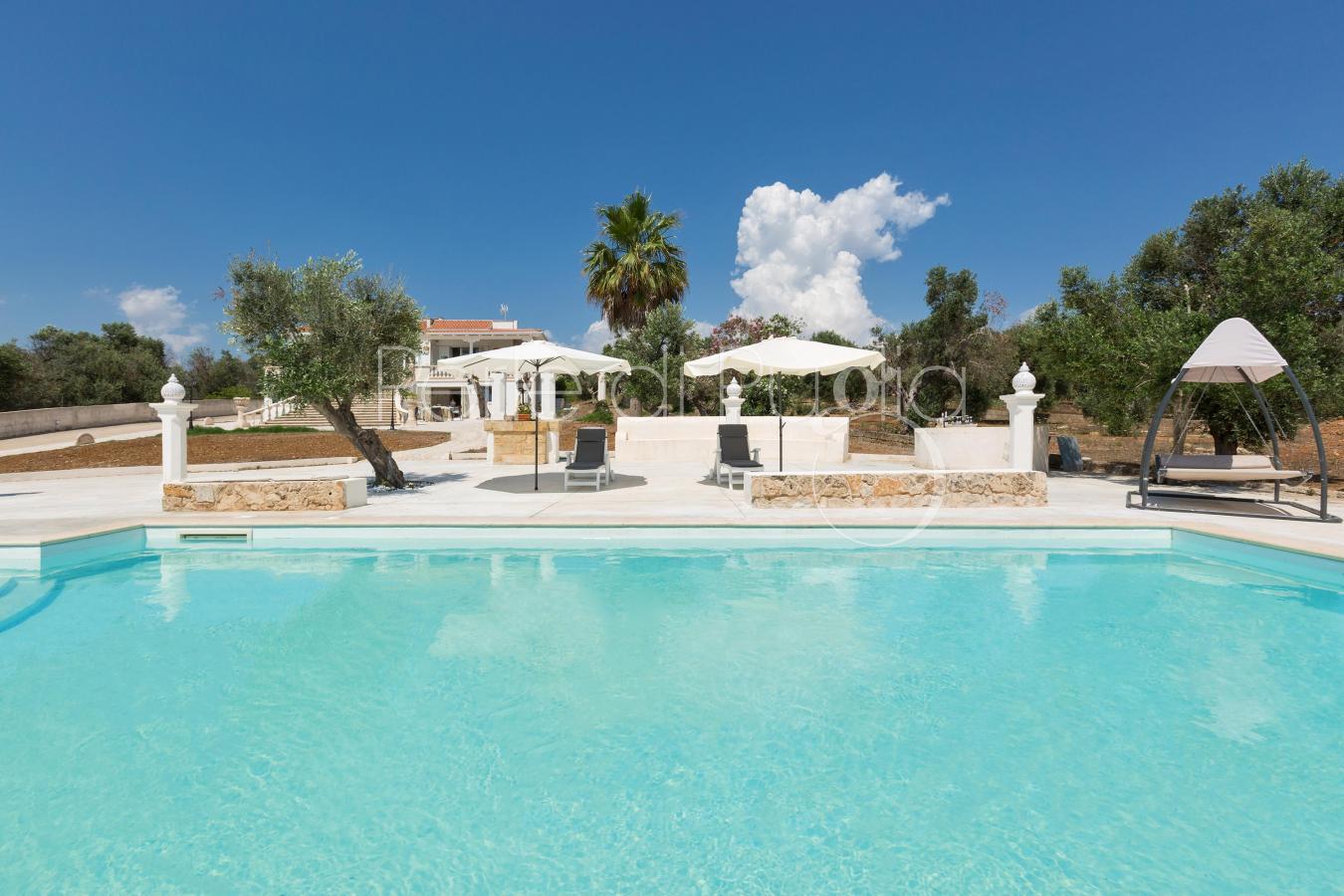 Villa con piscina vicino alle spiagge di ugento villa - San giovanni in persiceto piscina ...