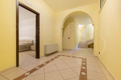 The basement floor of the villa for rent in Apulia