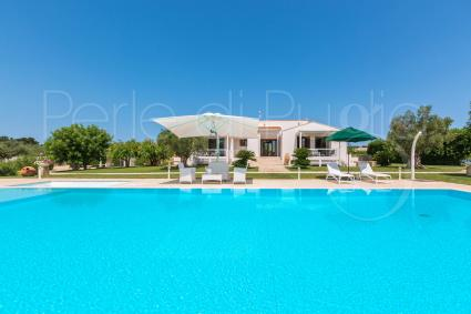 A beautiful villa for 8 guests: pool, internet, barbecue, ping-pong table and fresh eggs