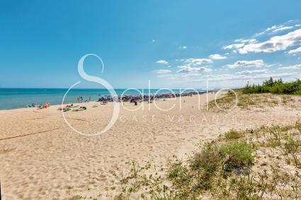 Crystal clear sea and sandy beach
