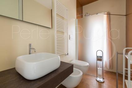La villa è dotata di tripli servizi con doccia