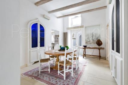 Antique interiors restored with care and furnished for a fabulous holiday