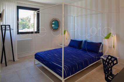 Le camere sono arredate con minuzia di particolari, armoniose e coordinate