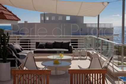 From the panoramic terrace you can enjoy exceptional sunsets on the sea