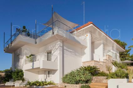 The luxury villa is built on 2 levels