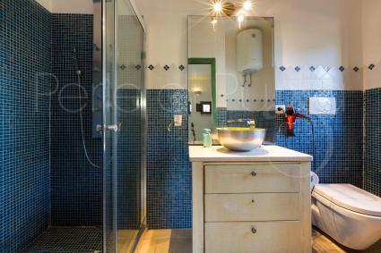 Anche il secondo appartamento è completo di ampio bagno doccia