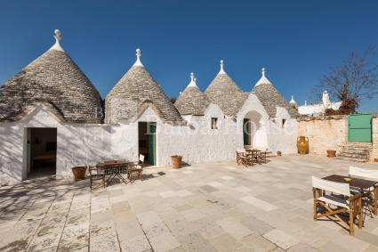 The trulli today are completely restored are equipped with all modern comforts