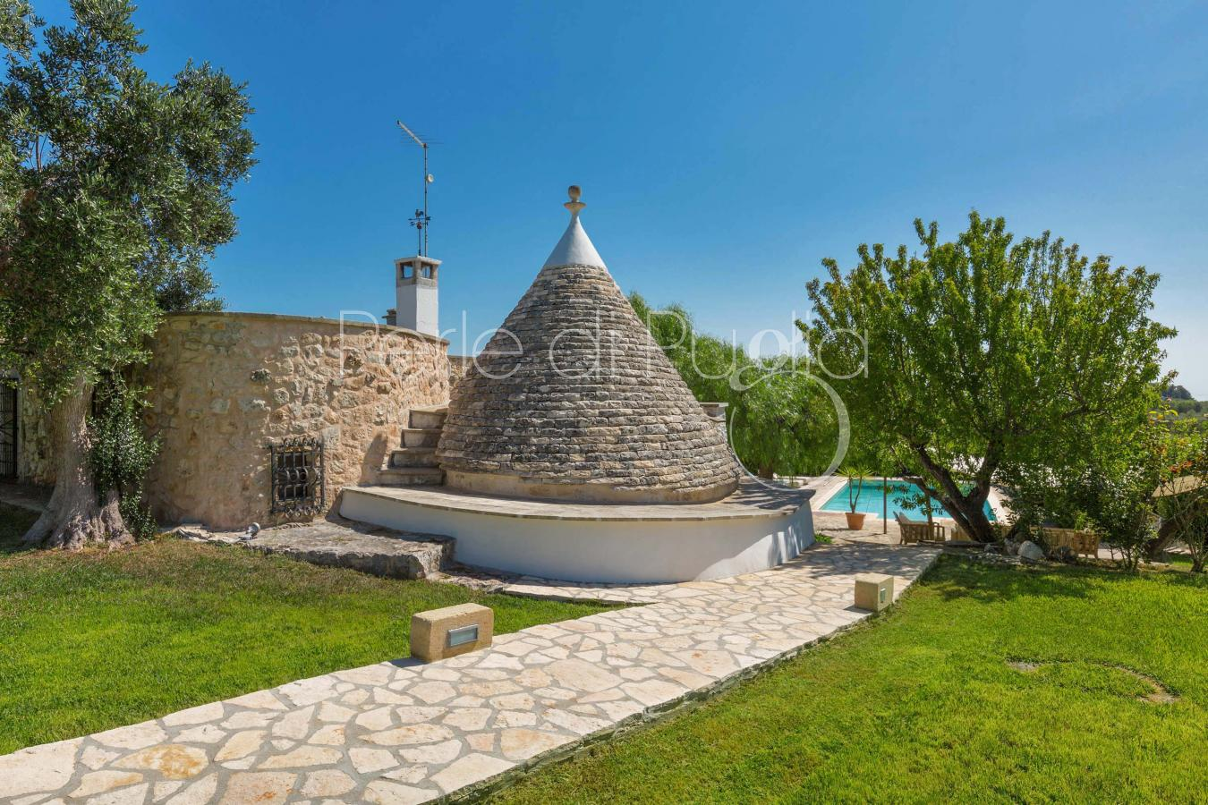 trulli e typical houses - Ostuni ( Brindisi ) - Trullino Cavallerizza