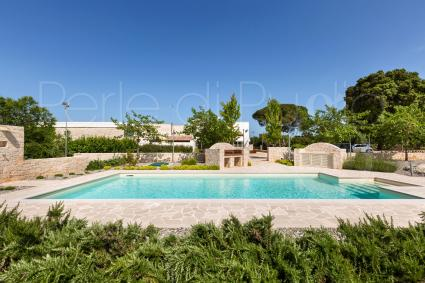 Villa with pool for rent to spend a holiday in Puglia