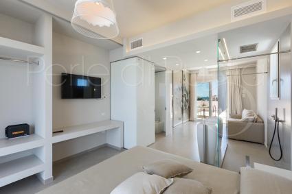 Ferienhauser - Torre Pali ( Leuca ) - Penthousewohnung mit Jacuzzi | Perla Saracena Luxury Suites