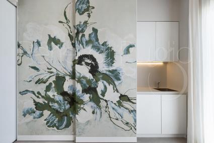 Un`opera d`arte esclusiva ed unica, realizzata a mano per le suite di Perla Saracena