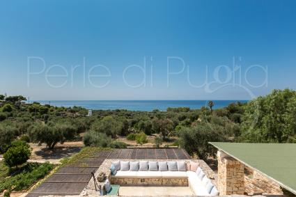 The villa is near the beaches of Pescoluse