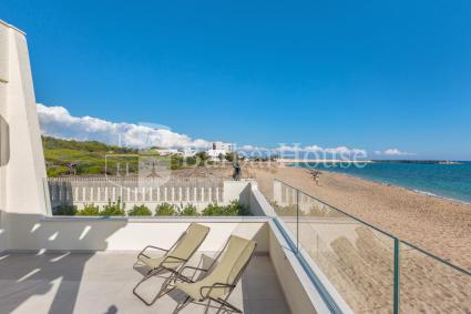 Splendida vista mare dalla casa sulla spiaggia