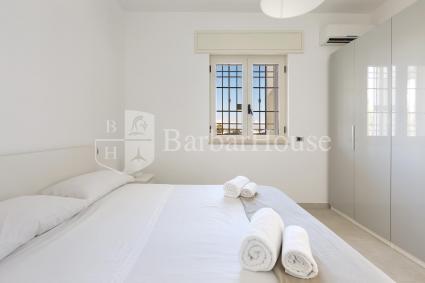 La prima delle camere da letto della villa vacanze