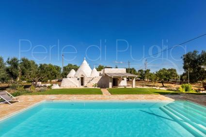 Villa for 7 guests for rent in Puglia