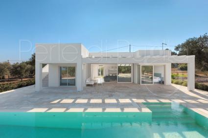Villa con piscina e vista mare in affitto per 7 persone