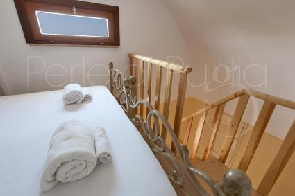 One of the master bedrooms on the mezzanine