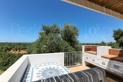 Barbecue with view on the olive trees
