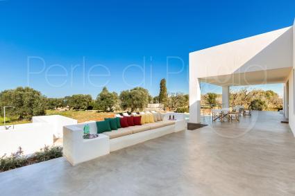 The beautiful villa in the countryside of Carovigno
