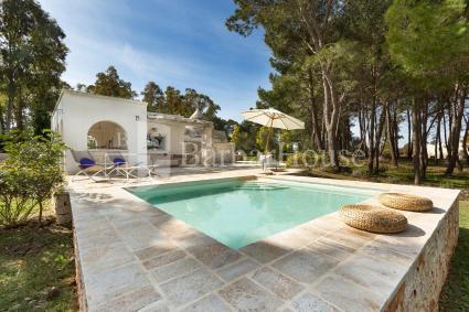 Villa vacanze con piscina e trulli in Valle d`Itria