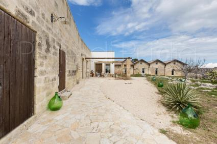 The ancient farmhouse is today a charming property