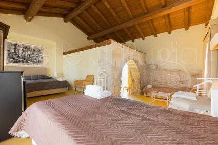 The sleeping area of the villa consists of 6 bedrooms