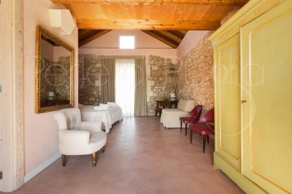 Le camere sono delle vere e proprie suite di lusso