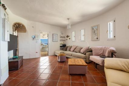 Double bedroom of the luxury holiday home in Apulia