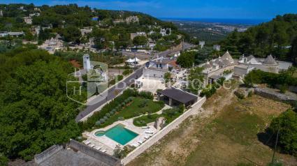 Villa di lusso con trulli e piscina da 8 posti letto