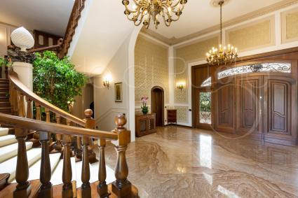 L`ingresso della villa