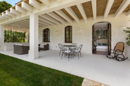 Tutte le suite hanno veranda o terrazza esclusiva La Suite n.6