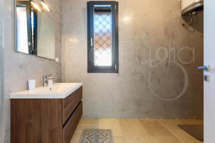 Caprette - the bathroom with shower