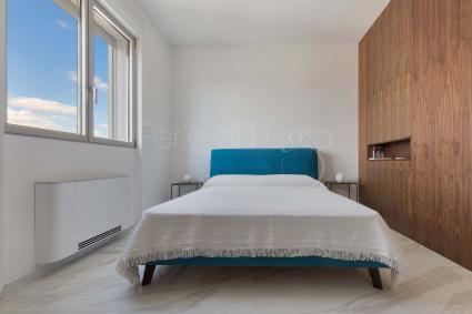 Zona notte con due camere da letto matrimoniali