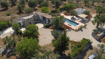 The complex with pool is located just 4 km from the beaches of Pescoluse