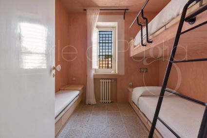 La camera doppia della casa vacanze con piscina vicino Gallipoli