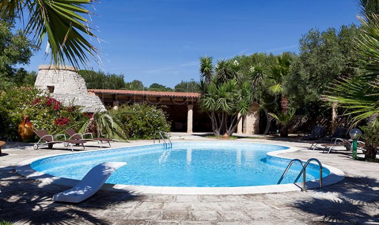 Villa extralusso con piscina a s m di leuca villa manco - Villa con piscina santa maria di leuca ...