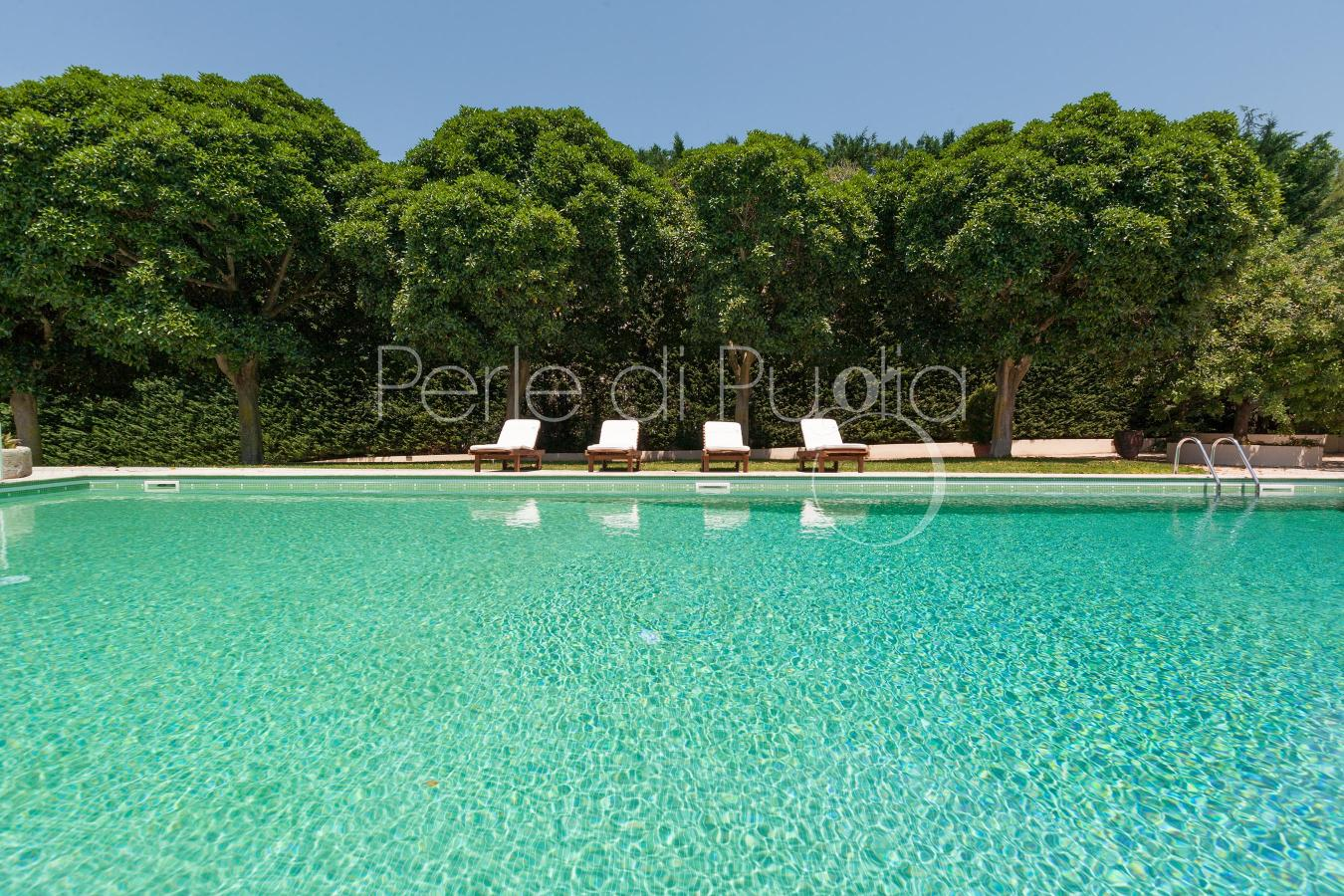 Villa con piscina per vacanze nel salento a casarano - Villa con piscina salento ...