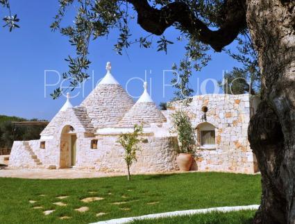 trulli e case tipiche - San Michele Salentino ( Brindisi ) - Borgo Ajeni - Trullo Basilio