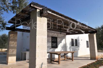 villas et fermes - San Michele Salentino ( Brindisi ) - Borgo Ajeni - Villetta Ariel