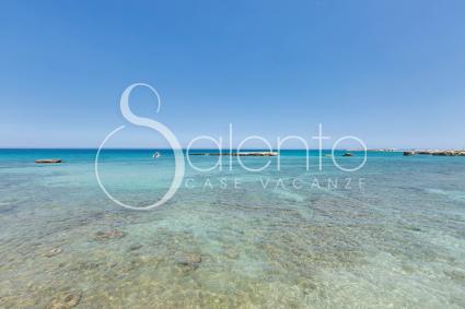 Lo splendido mare della marina di Melendugno, sull`Adriatico