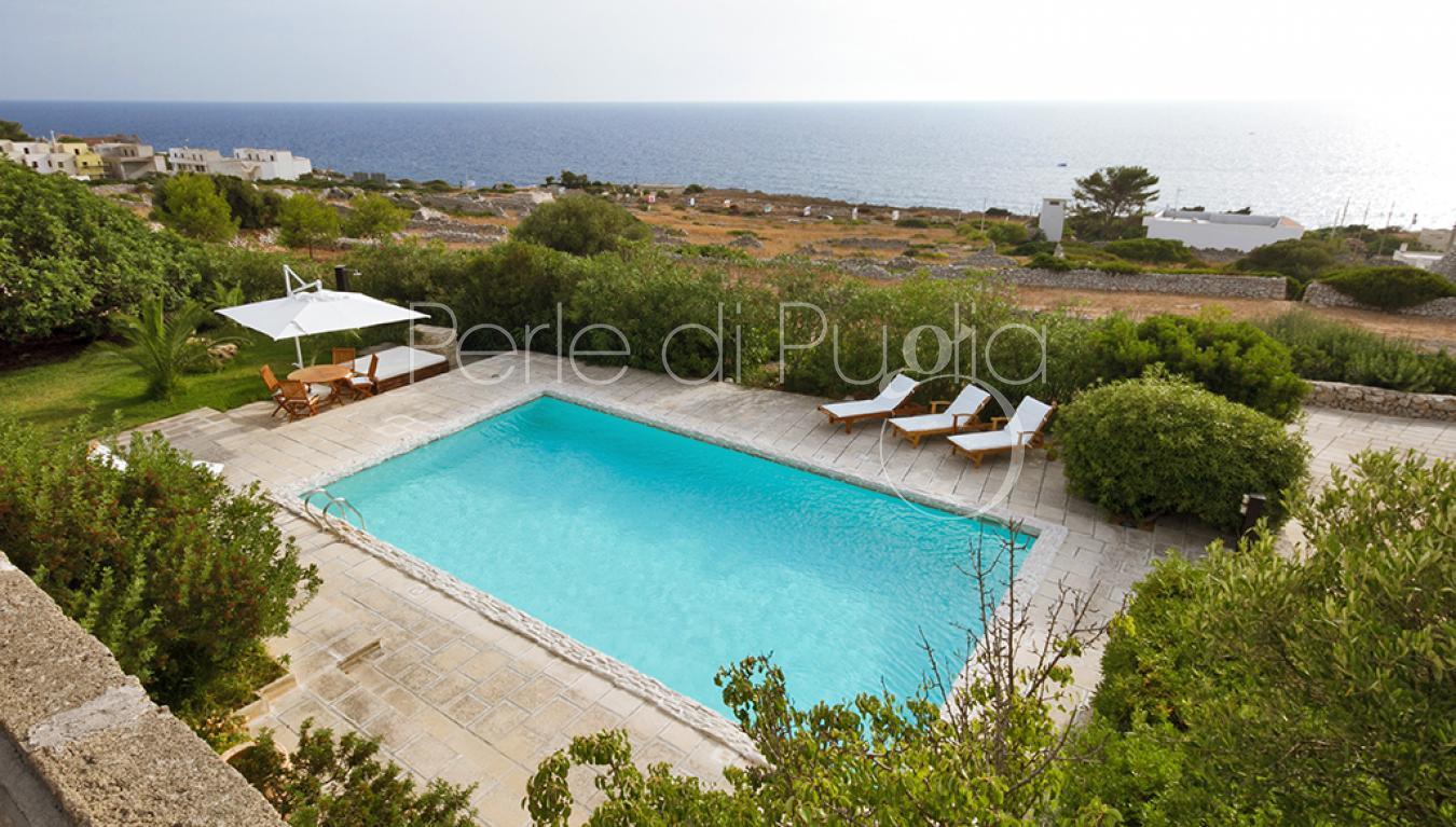 Villa con piscina a santa maria di leuca villa leucos - Piscina santa maria ...