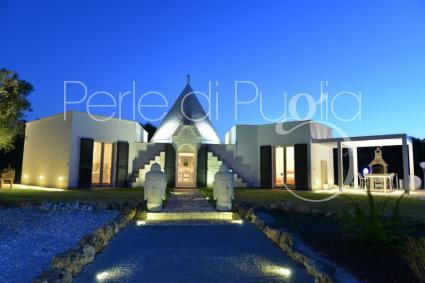 luxury villas - Carovigno ( Brindisi ) - Trullo Ramachandra (Extra Luxury)