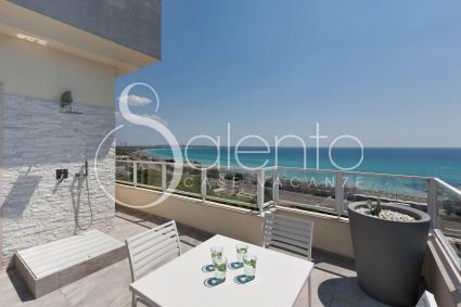 La casa vacanze con vista sul mare di Gallipoli e terrazza attrezzata